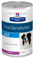 Hill's Canine Prescription Diet D/D Food Sensitivities Duck