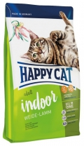 Happy Cat Adult Indoor Weide Lamm - 10kg