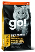 Go! for Cats Sensitivities Limited Ingredient Grain-Free Duck Recipe - 3,7kg