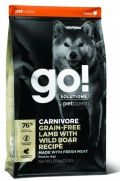 Go! for Dogs Carnivore Grain-Free Lamb with Wild Boar Recipe - 10kg