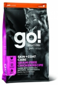 Go! for Dogs Skin + Coat Care Grain Free Chicken Recipe - 11,4kg