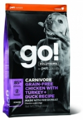 Go! for Dogs Senior Carnivore Grain-Free Chicken with Turkey + Duck Recipe - 10kg